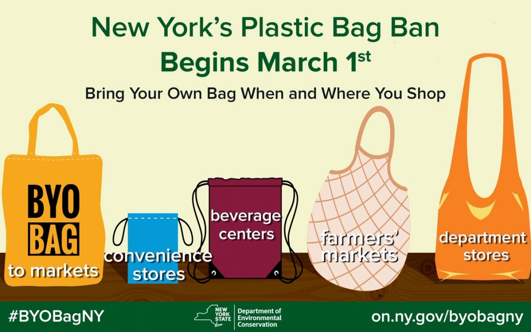 NY's Plastic Bag Ban is ON!